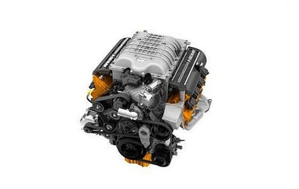 2017 Ram 1500 SRT Hellcat engine
