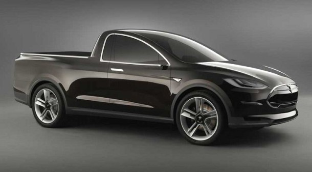 Possible look for 2017 Tesla Pickup Truck