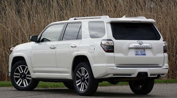 2017 Toyota 4Runner rear view
