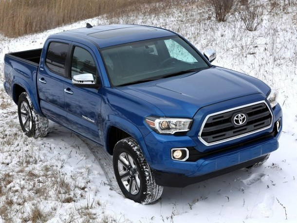 2017 Toyota Tacoma Diesel top