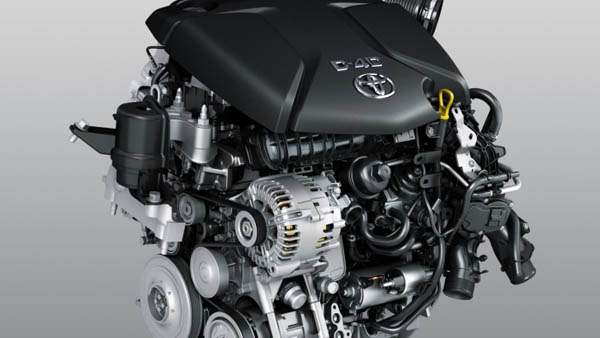 2017 Toyota Tundra engine