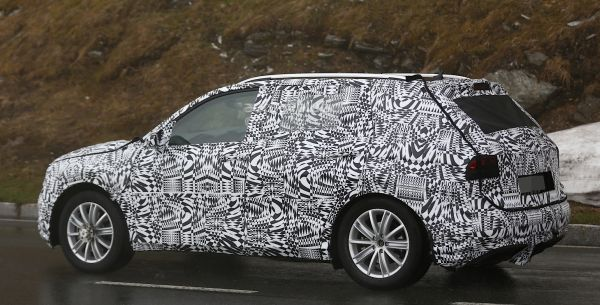 VW Tiguan spy shot