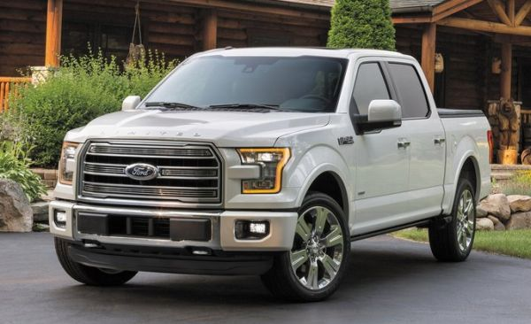 exterior 2016 Ford F-150 Limited front angle