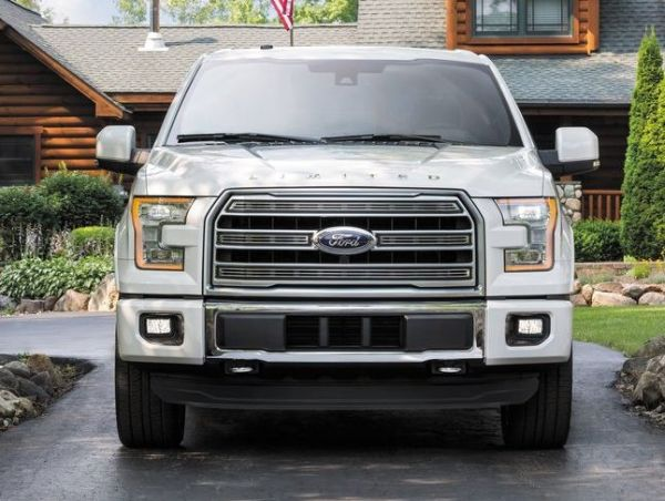 exterior 2016 Ford F-150 Limited front