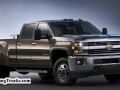 The 2015 Silverado 3500 features an all-new exterior designed to reduce wind noise and enhance powertrain cooling for more consistent performance.  The all-new interior is quiet and comfortable, with ample storage for work or travel and the intuitive connectivity of Chevy MyLink.  Customers can chose from gasoline, CNG or diesel power, including the legendary Duramax turbodiesel and Allison transmission. The Silverado 3500 offers class-leading available payload and conventional towing.