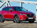 2016 Mazda CX-3 Red Front View