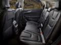 2016 Ford Edge interior side view back seats