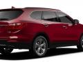 2016 Hyundai Santa Fe rear view