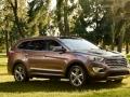 2016 Hyundai Santa Fe front angle side
