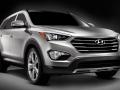 2016 Hyundai Santa Fe front view side