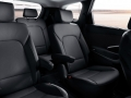 2016 Hyundai Santa Fe interior black leather