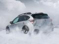 2016 Subaru Crosstrek rear snow