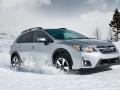 2016 Subaru Crosstrek snow front