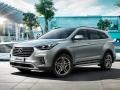 2017 Hyundai Grand Santa Fe Front view
