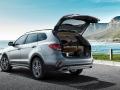 2017 Hyundai Grand Santa Fe Rear view