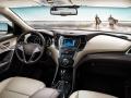 2017 Hyundai Grand Santa Fe interior front view