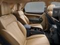 2017 Bentley Bentayga interior seats