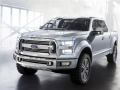 2017 Ford Atlas front view