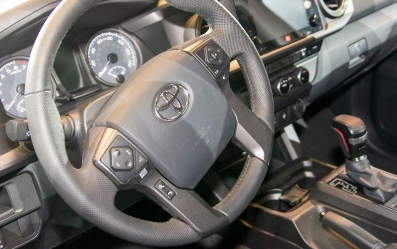 2017 Toyota Tacoma Trd Pro Interior Steering Wheel