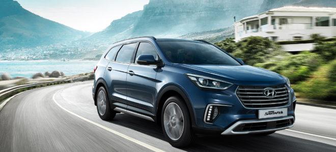 2017 Hyundai Grand Santa Fe Review Release Date Specs